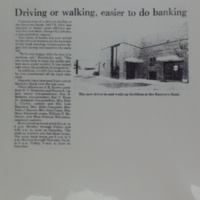Driving or walking, easier to do banking