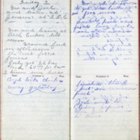 1901 Diary August 3-6