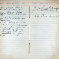 1904 Diary March 28-29