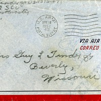 April 13, 1952 (envelope)