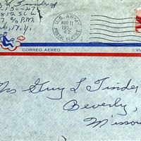 March 10, 1953 (envelope)