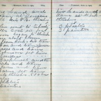 1904 Diary August 1-2