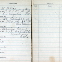 1914 Diary Addresses Page 8