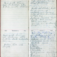 1901 Diary August 1-2