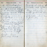 1904 Diary August 9-10