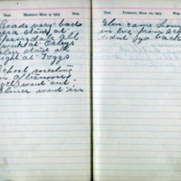 1903 Diary March 9-10