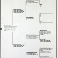 Pedigree Chart for Mary Annie Brown