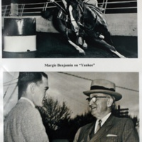 Margie Benjamin/Howard Benjamin meets Harry S Truman