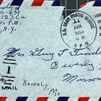 June 11, 1953 (envelope)