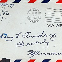 July 15, 1952 (envelope)