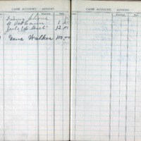 1903 Diary Cash Account August
