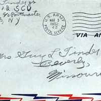 March 2, 1952 (envelope)