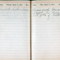 1914 Diary March 5-6