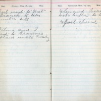 1904 Diary March 18-19
