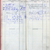 1901 Diary Bills Payable June-July