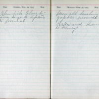 1903 Diary March 29-30