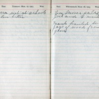 1903 Diary March 17-18