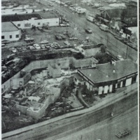 Aerial View of Raytown Federal Savings and Loan/UMB Construction