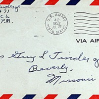 July 21, 1952 (envelope)