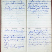 1901 Diary August 11-14
