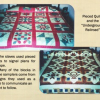 Pieced Quilts and the Underground Railroad p. 16