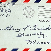 July 28, 1952 (envelope)