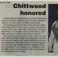 Chittwood Honored