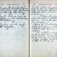 1903 Diary August 1