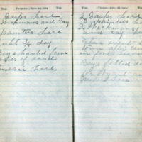 1904 Diary August 25-26