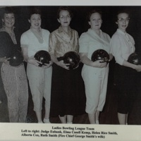 Ladies Bowling League Team