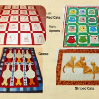 Mom's Magic: Lap Quilts and Wall Hangings