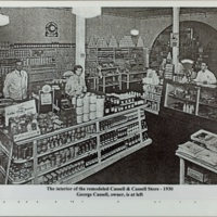 Interior of Remodeled Cassell & Cassell Store