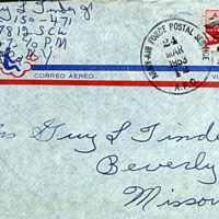 March 23, 1953 (envelope)