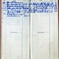 1899 Diary Bills Payable June-July