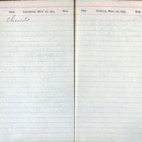 1903 Diary March 21-22