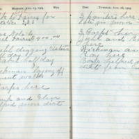 1904 Diary August 15-16