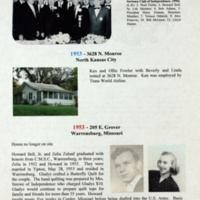 A Century with the Bell, Harrison and Zulauf Families in Jackson County, Missouri and Elsewhere p. 47