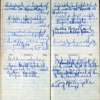 1901 Diary March 4-7