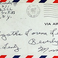 January 26, 1953 (envelope)