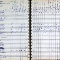 S6_F3_Roll Call Book-Past Noble Grands-1958
