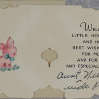 May 4, 1953 (inside card)