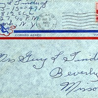 March 2, 1953 (envelope)