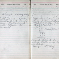 1903 Diary March 19-20