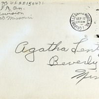 September 11, 1951 (envelope)
