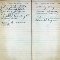 1904 Diary March 20-21