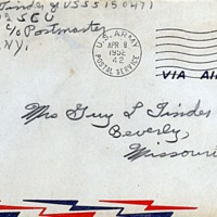 April 7, 1952 (envelope)