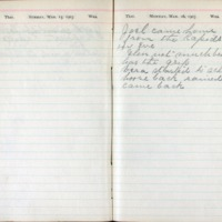 1903 Diary March 15-16