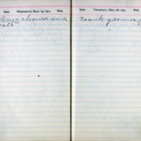 1903 Diary March 25-26