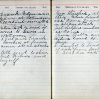 1903 Diary August 18-19