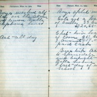 1904 Diary March 10-11